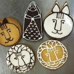 リサの動物クッキー