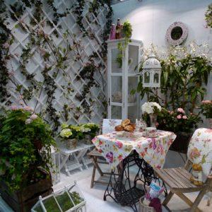 ガーデン展示 (北欧ガーデンフェアで春を満喫 Nordic Garden fair at Stockholmsmässan)