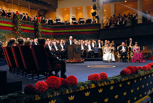 Nobel award ceremonies