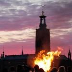 ヴァルプルギスの夜の火祭り
