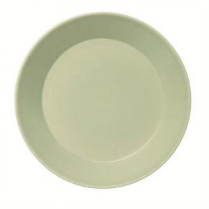 plate (イッタラの新製品、ティーマのセラドングリーンとカルティオのフォレストグリーン)