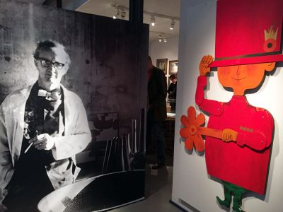 スティグ・リンドベリ生誕100周年記念特集。リンドベリ展開催中